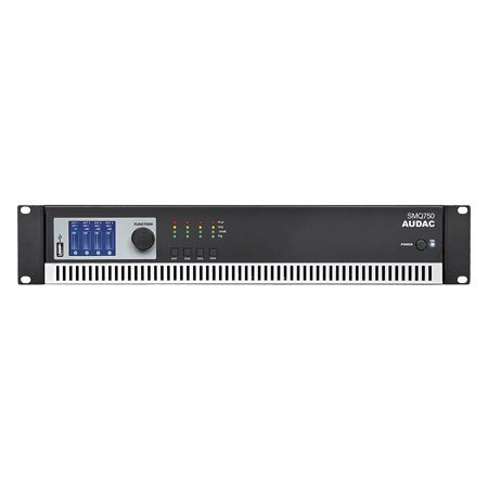 Audac SMQ750 wavedynamicsT quad channel power amplifier - 4 x 750 watt