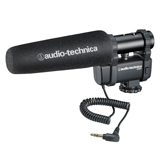 Audio-Technica AT8024 Mono/stereo condenser camera mount microphone