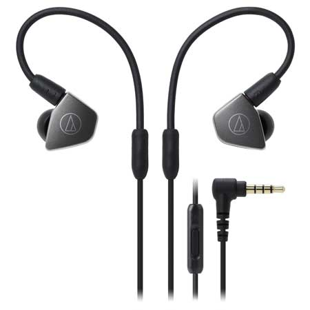 Audio-Technica ATH-LS70iS Live-Sound In-Ear Headphones