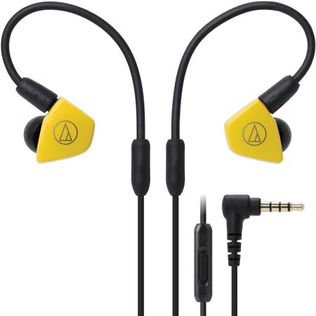 Audio-Technica ATH-LS50iSYL Live-Sound In-Ear Headphones