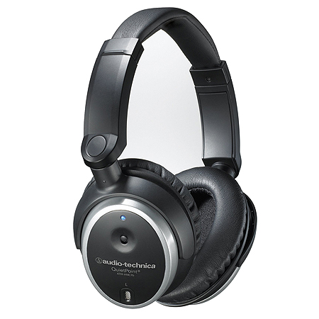 Audio-Technica ATH-ANC7B Active noise cancelling over-ear headphones