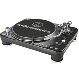 Audio-Technica AT-LP1240USB Professional DJ Direct-Drive Turntable (USB & Analog)