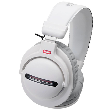 Audio-Technica ATH-PRO5MK3 WH Monitor/DJ Headphones - White