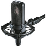 Audio-Technica AT4040 SM Cardioid condenser microphone with shock mount