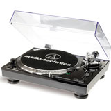 Audio-Technica AT-LP120USBHC BK Direct-Drive Professional Turntable with HS10 Headshell & AT95E Cartridge