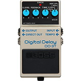 Boss DD-3T Iconic Digital Delay Upgraded with Tap Tempo Control