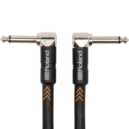 Roland RIC-B3AA 1m Instrument Cable, Angled/Angled 1/4