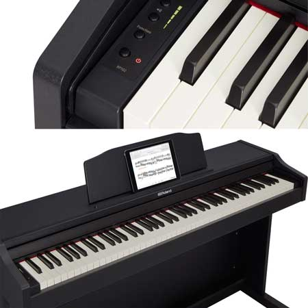 Roland RP-102 BK digital piano with stand