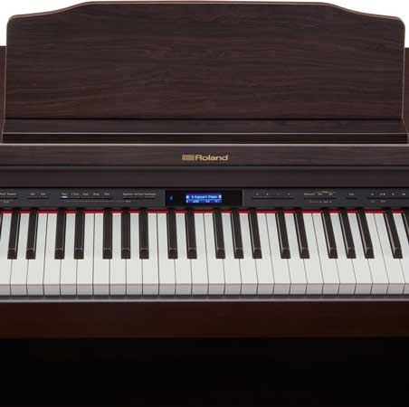 Roland HP-601 CR Set digital piano with stand