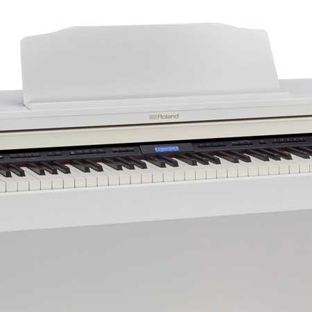 Roland HP-601 WH Set digital piano with stand