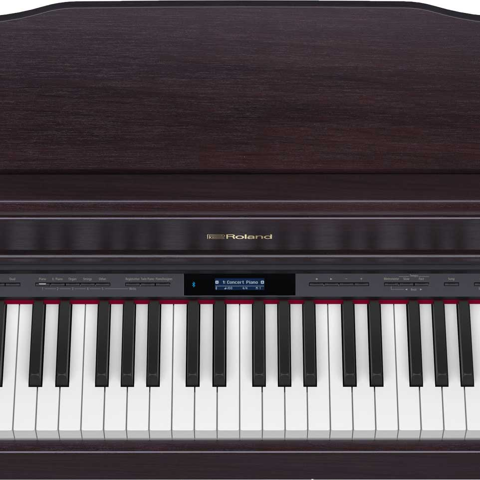 Roland HP-603 ACR Set digital piano with stand
