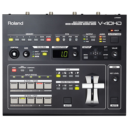 Roland V-40HD Multi-Format Video Mixer