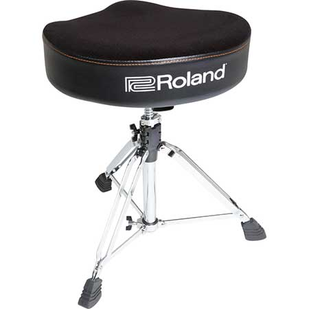 Roland RDT-S Saddle Drum Throne, velours seat