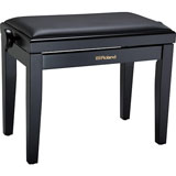 Roland RPB-200BK-EU Piano Bench, Satin Black, vinyl seat (EU model)