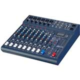 Studiomaster CLUBXS10 10-channel 6 x mic + 2 stereo line input mixer with USB/SD