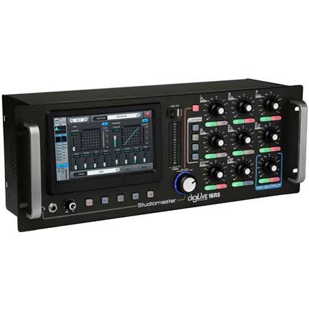 Studiomaster DIGILIVE16RS rack mounting digital mixer