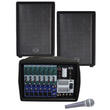 Wharfedale PMX-700 System PA System Package