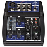 Wharfedale Connect-502 USB Micro-Mixer 1 mic+2 stereo in