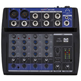 Wharfedale Connect-802 USB USB Micro-Mixer 2 mic+2 stereo in